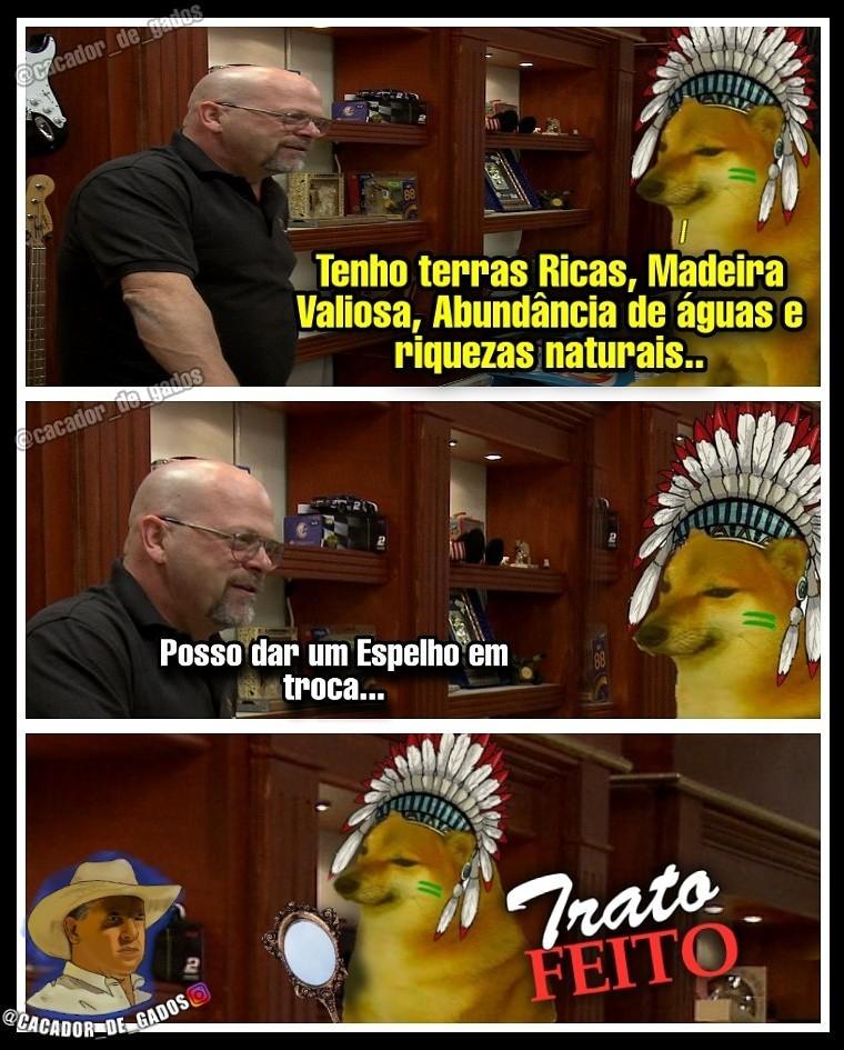 Índio... - meme