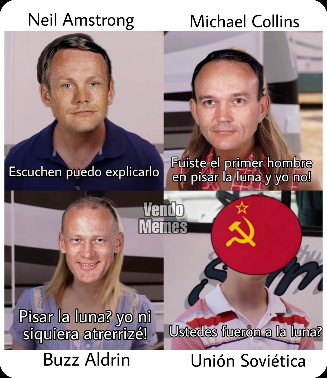 Apolo 11 - meme