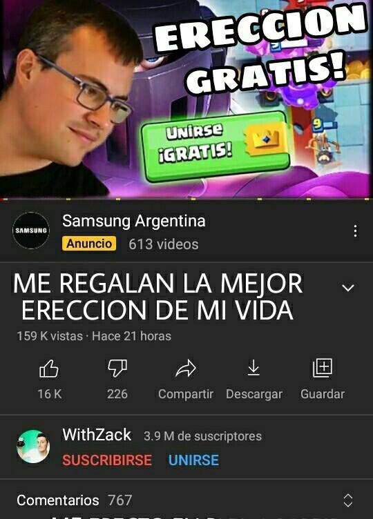 ERECCIÓN GRATIS!!!!!!!! - meme