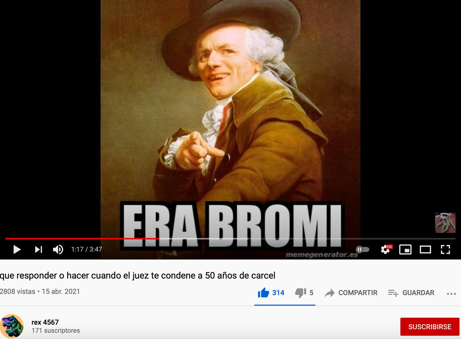 ERA BROMA - meme