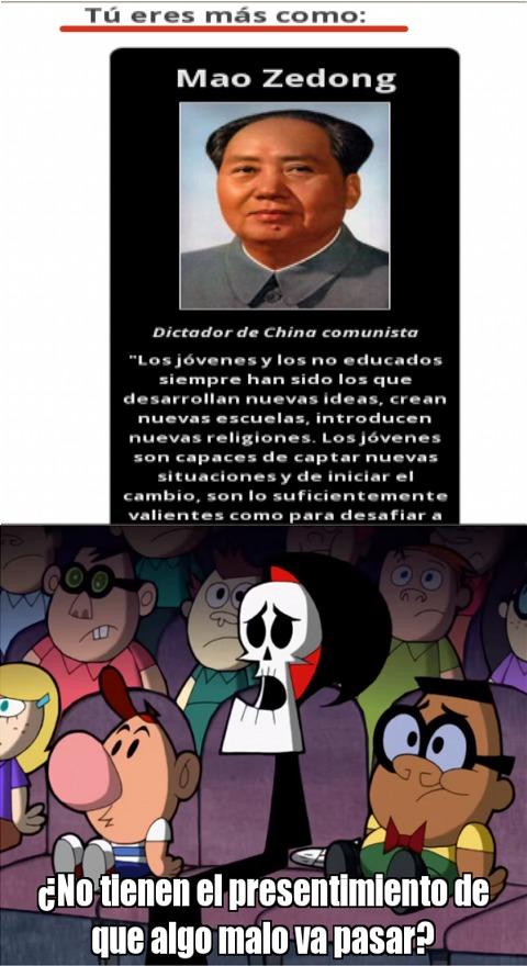 XD, mi personalidad se asemeja a un gordo chino comunista. - meme