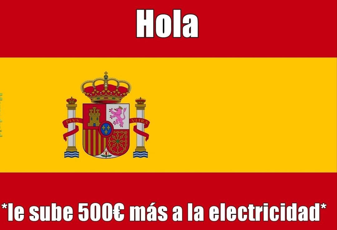 Pobres españoles :( - meme