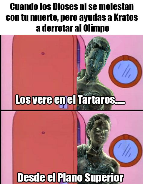 es God Of War 3 - meme