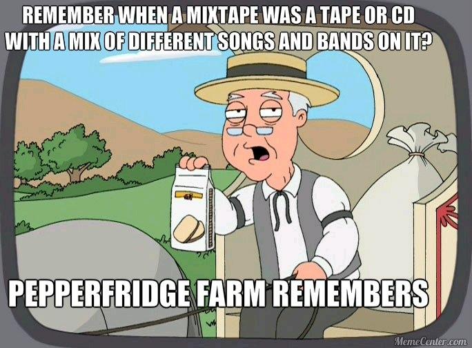 Lit mixtape - meme