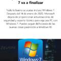 Le tuve mucha confianza a Windows 7