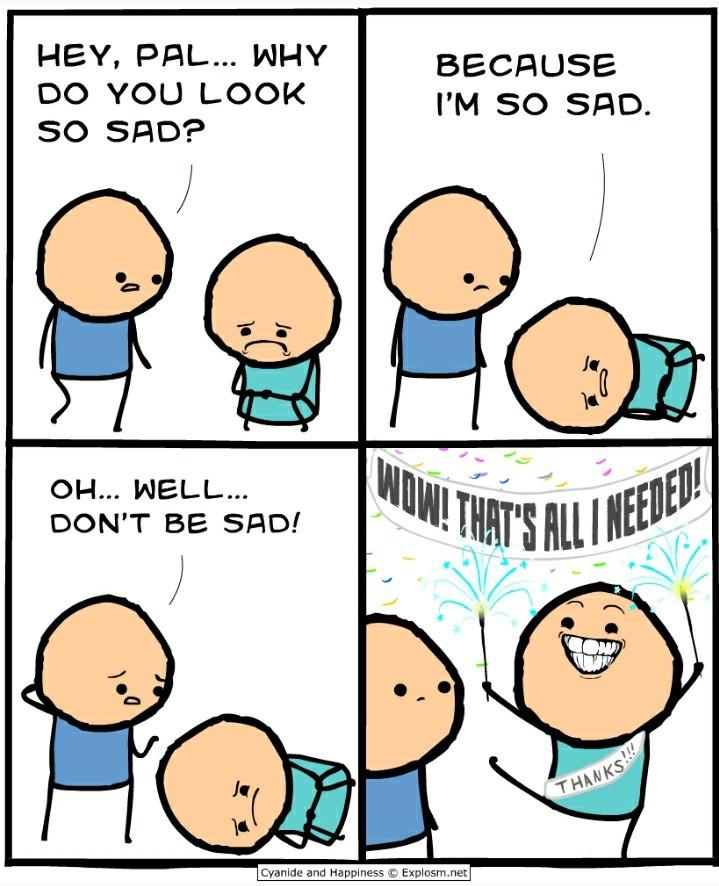 Depression is no more. - meme