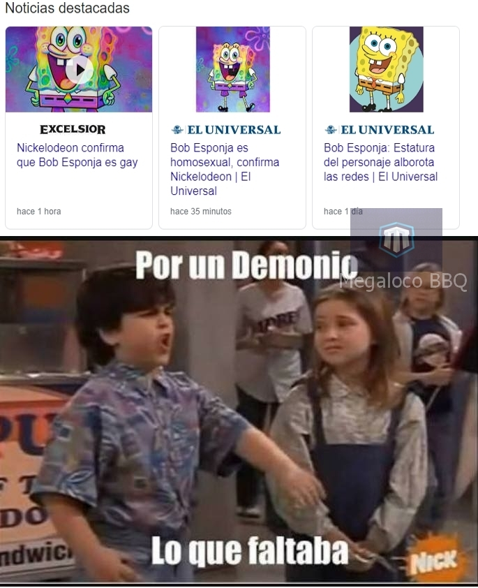 Noooo Bob Esponja es Yolotroll :( - meme