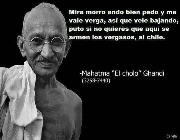 Ghandi mexicano ghandi mexicano - meme