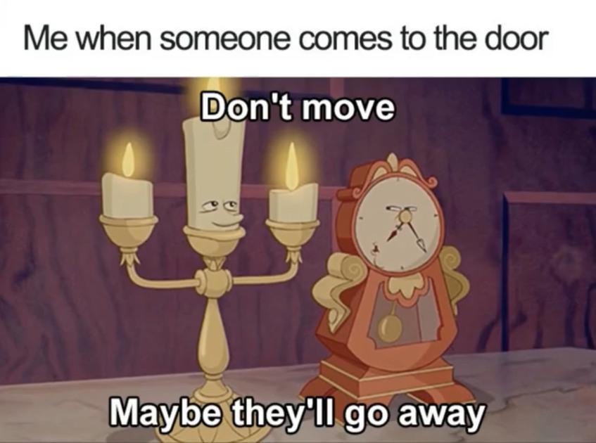 Awkward shy people like me - meme