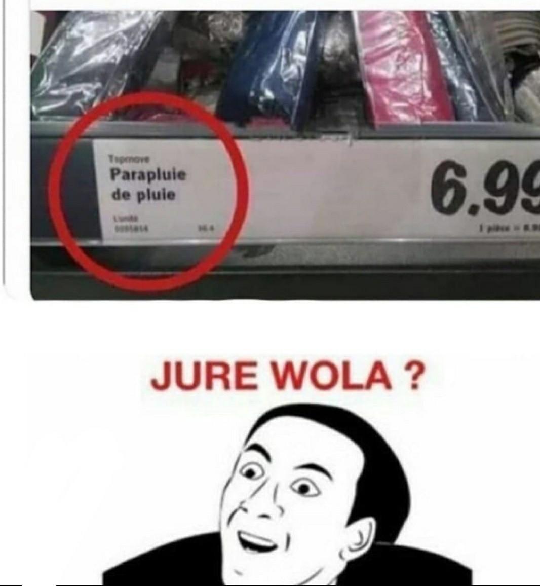 Wola ? - meme