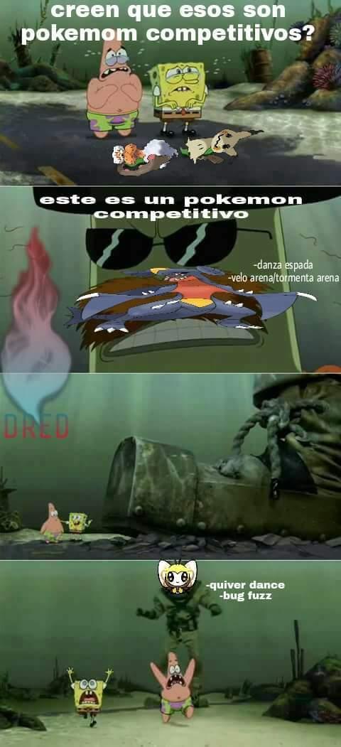 Pero que Pokémon mas OP, pero no tanto como magikarp - meme