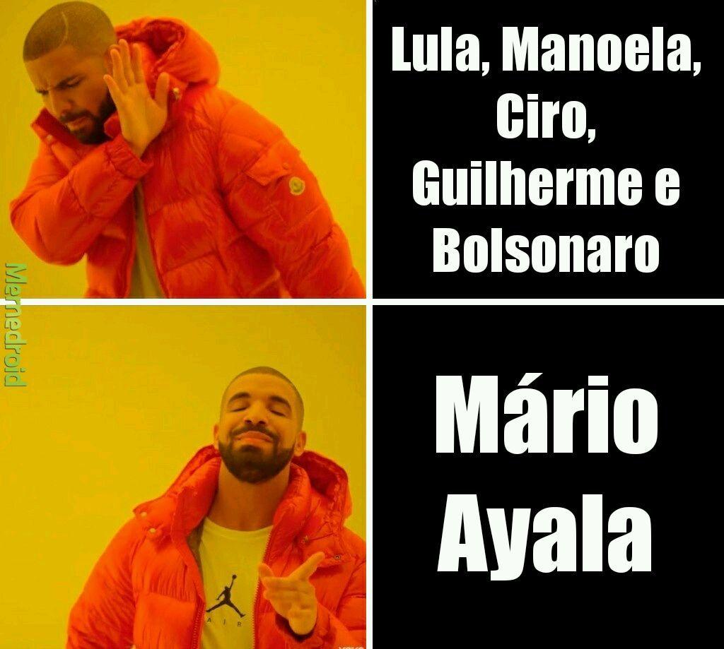 #MarioAyala2018 - meme