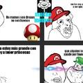 Damas y caballeros así es la historia de Mario