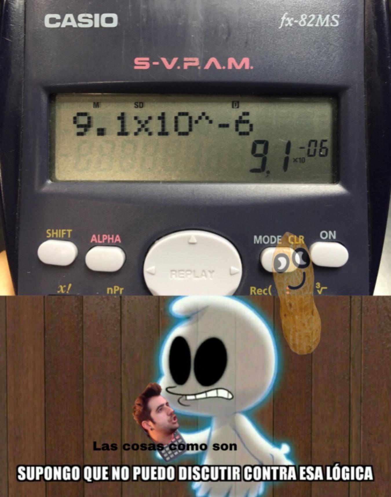 puta la wea calculadora ql - meme