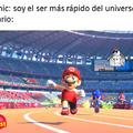 Mario es mas rapido que el zonik confirmado