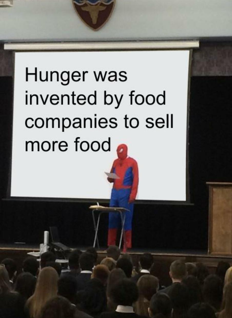 A conspiracy - meme