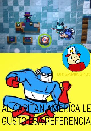 Al Capitan America le gusto esa referencia - meme