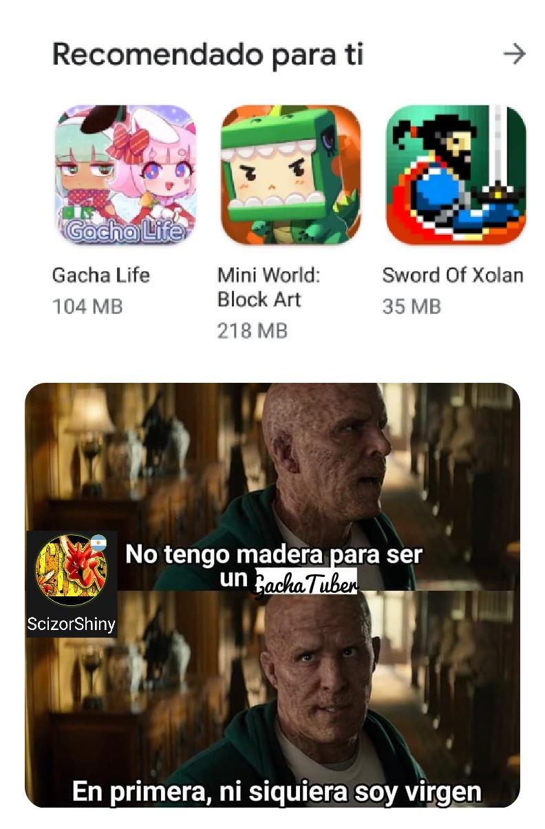 El título no es virgen - meme