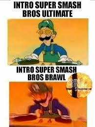 Smash be like - meme