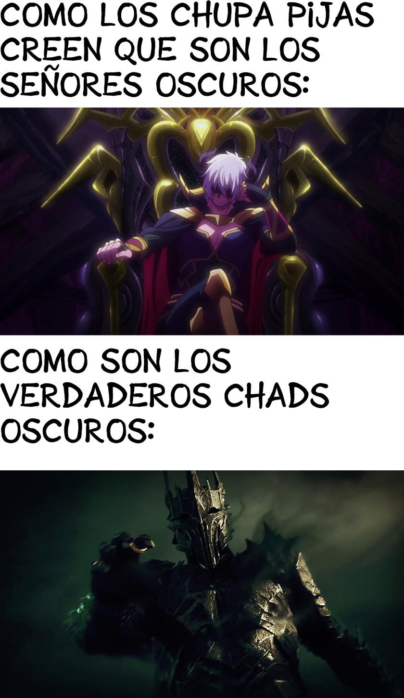 los otakus huelen pijas no conocen al master de sauron - meme