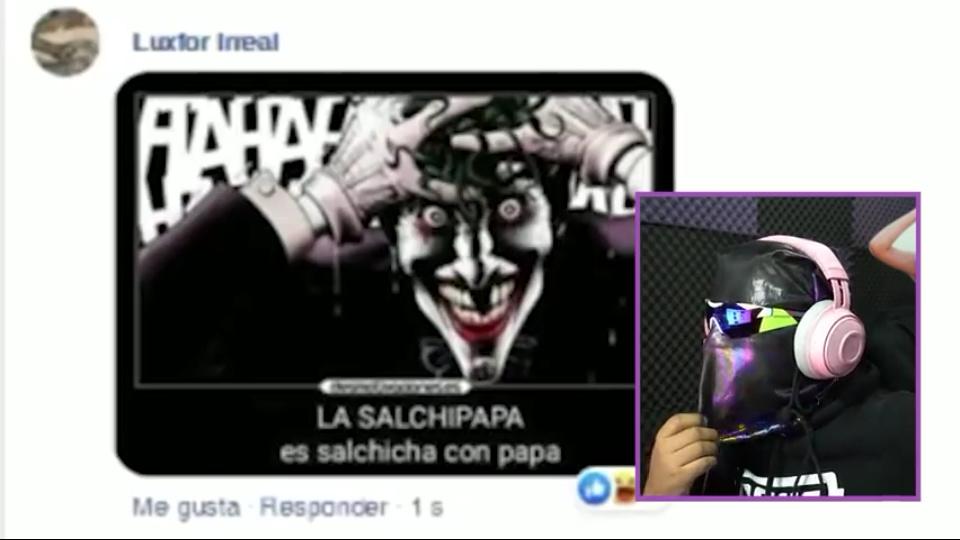Salchipapa - meme