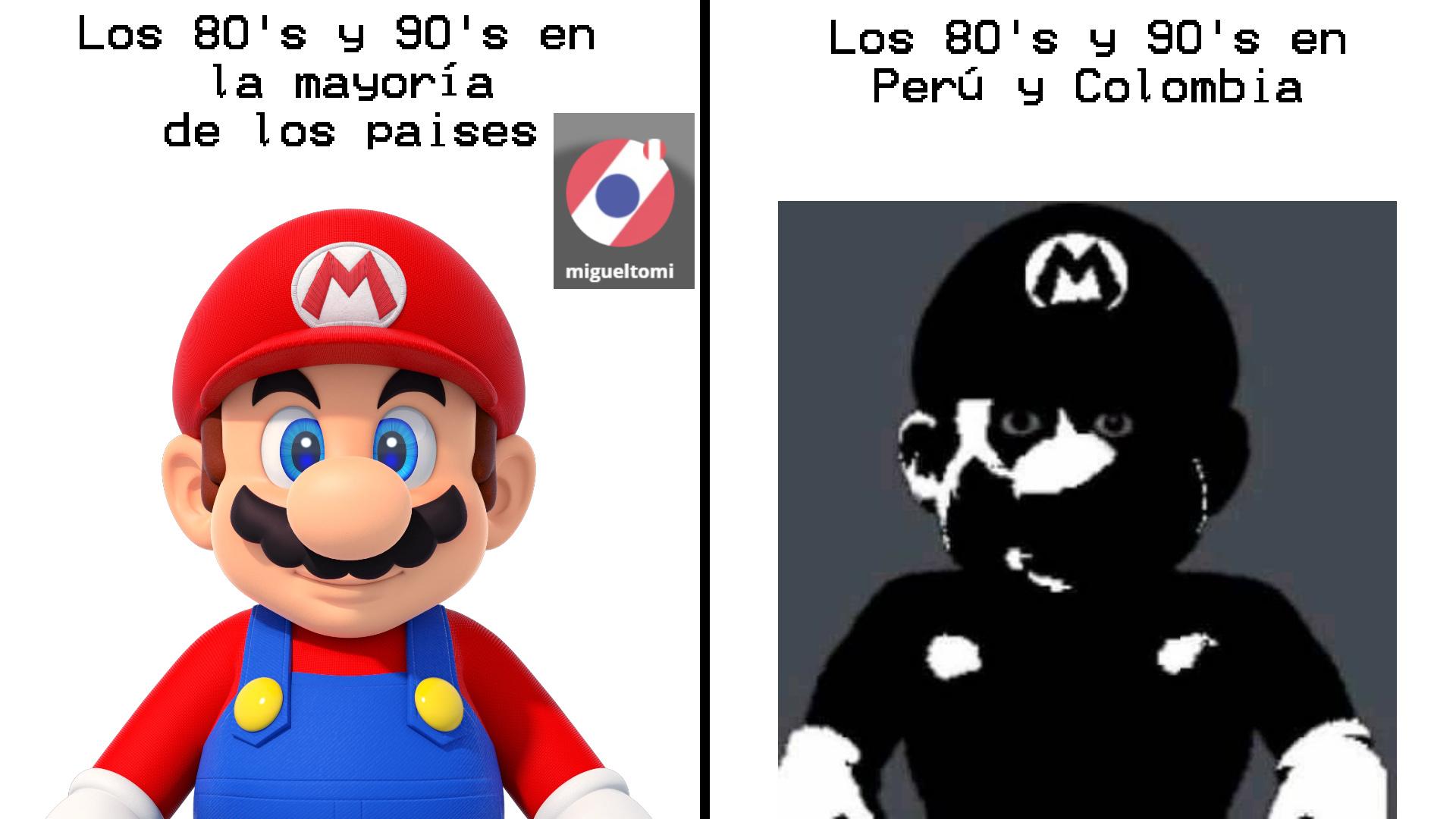 Quienes no entienden durante esas épocas Sendero Luminoso y el MRTA en Perú y las FARC en Colombia causaban muchos atentados, secuestros y asesinatos en sus países - meme