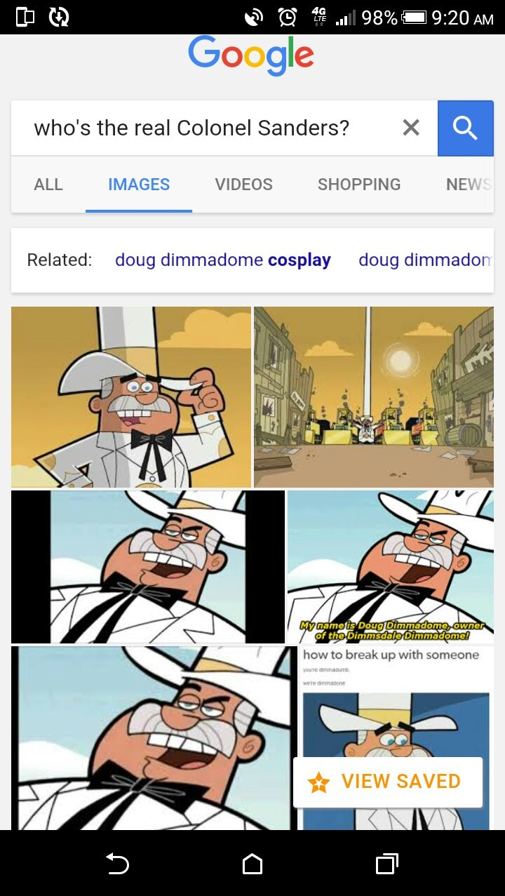 Doug Dimmadome owner of the Dimmsdale Dimmadome - meme