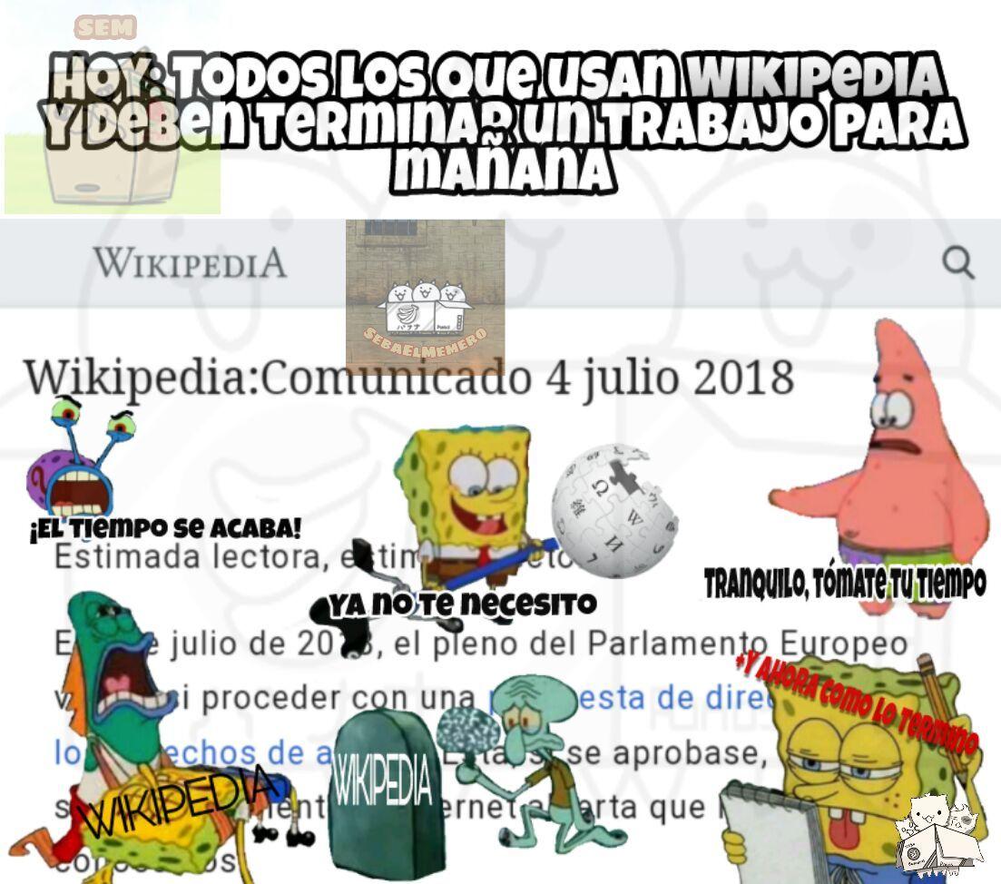 Wikipedia - meme