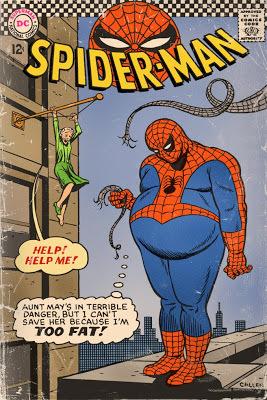 Fat Spider-Man - meme
