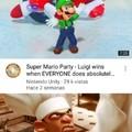 Luigi wins doin absolutely nothing