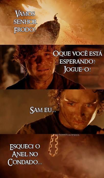 Frodo o Vacilão - meme