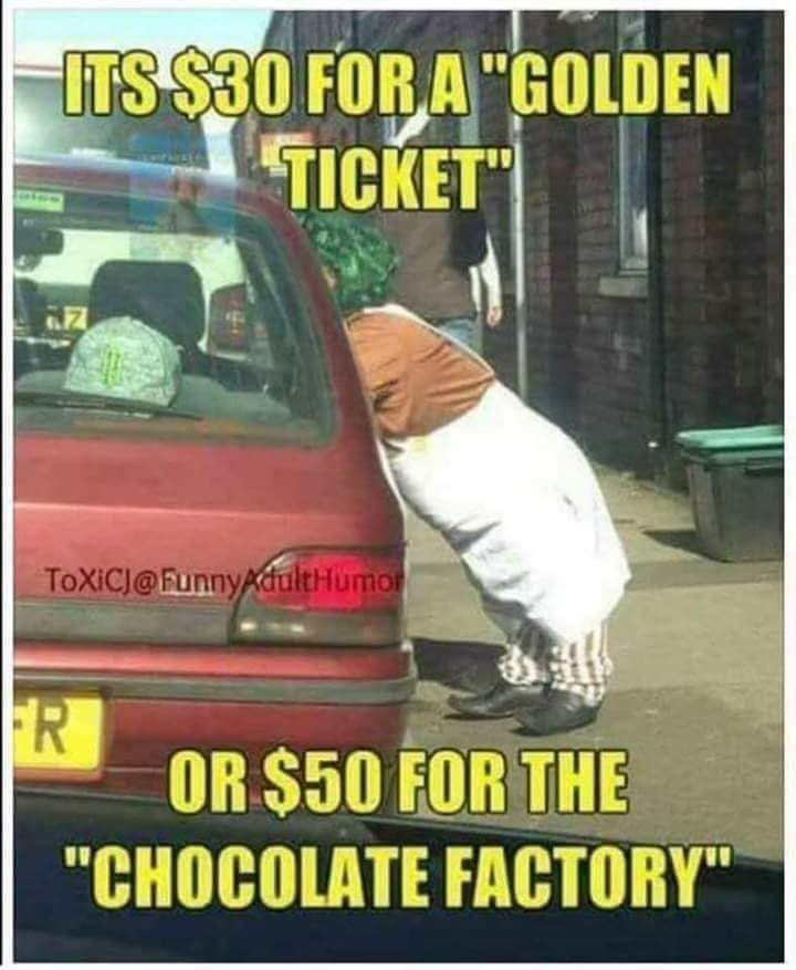 50 for the chocolate factory - meme