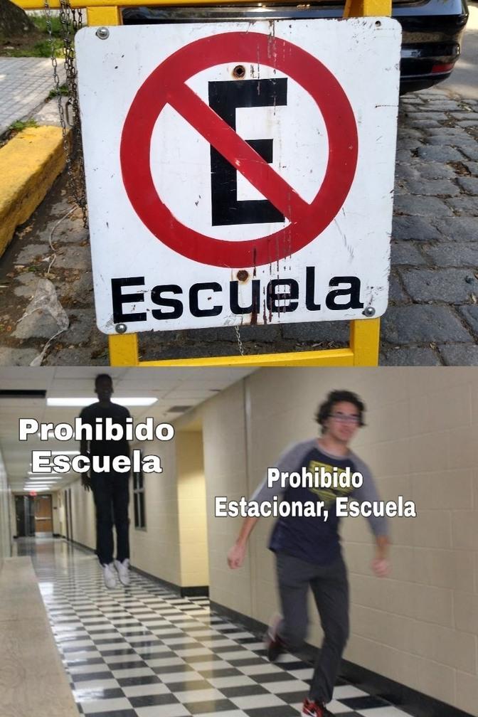 Prohibido - meme
