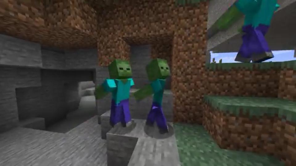 Zombies corriendo como naruto jsjsjs - meme
