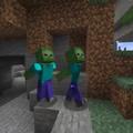 Zombies corriendo como naruto jsjsjs