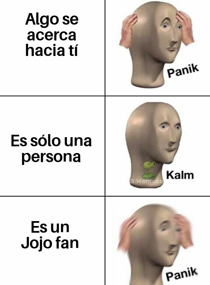 Pinches jojofans - meme