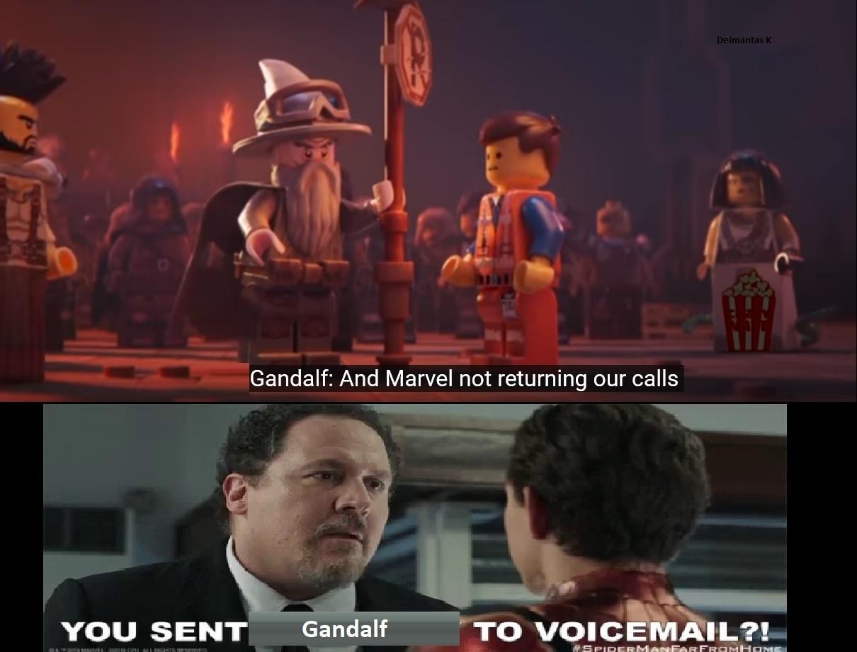 Lego Movie 2 is part of MCU now - meme
