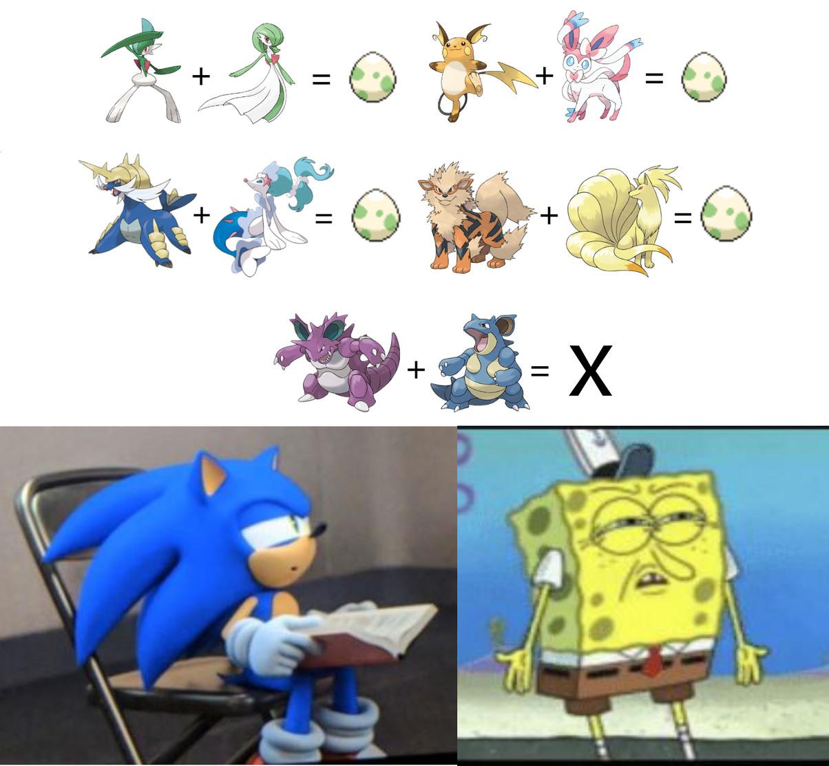 Logica de Pokemon :v - meme