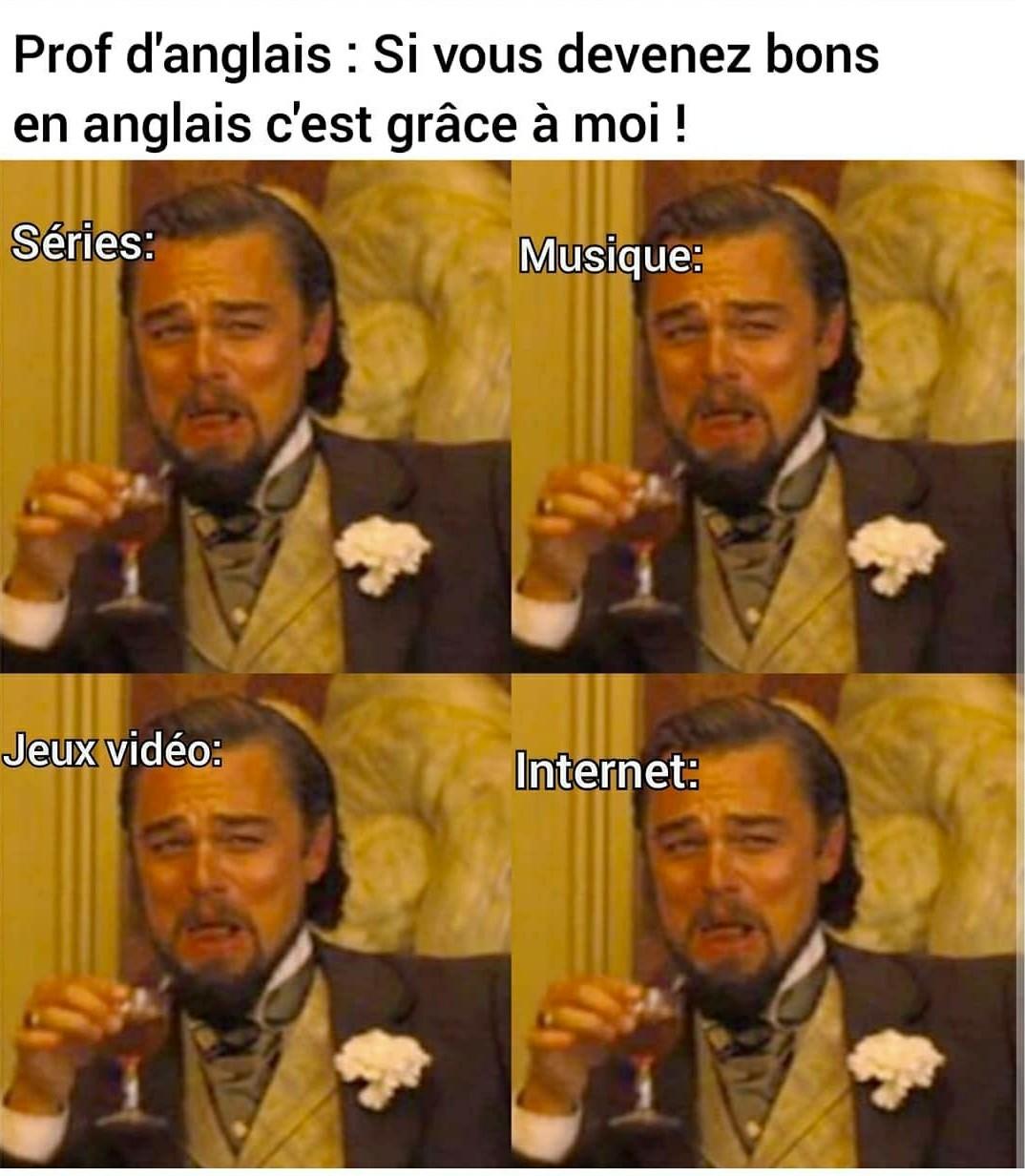 Les profs d'anglais en france sont quasi tous nulles - meme