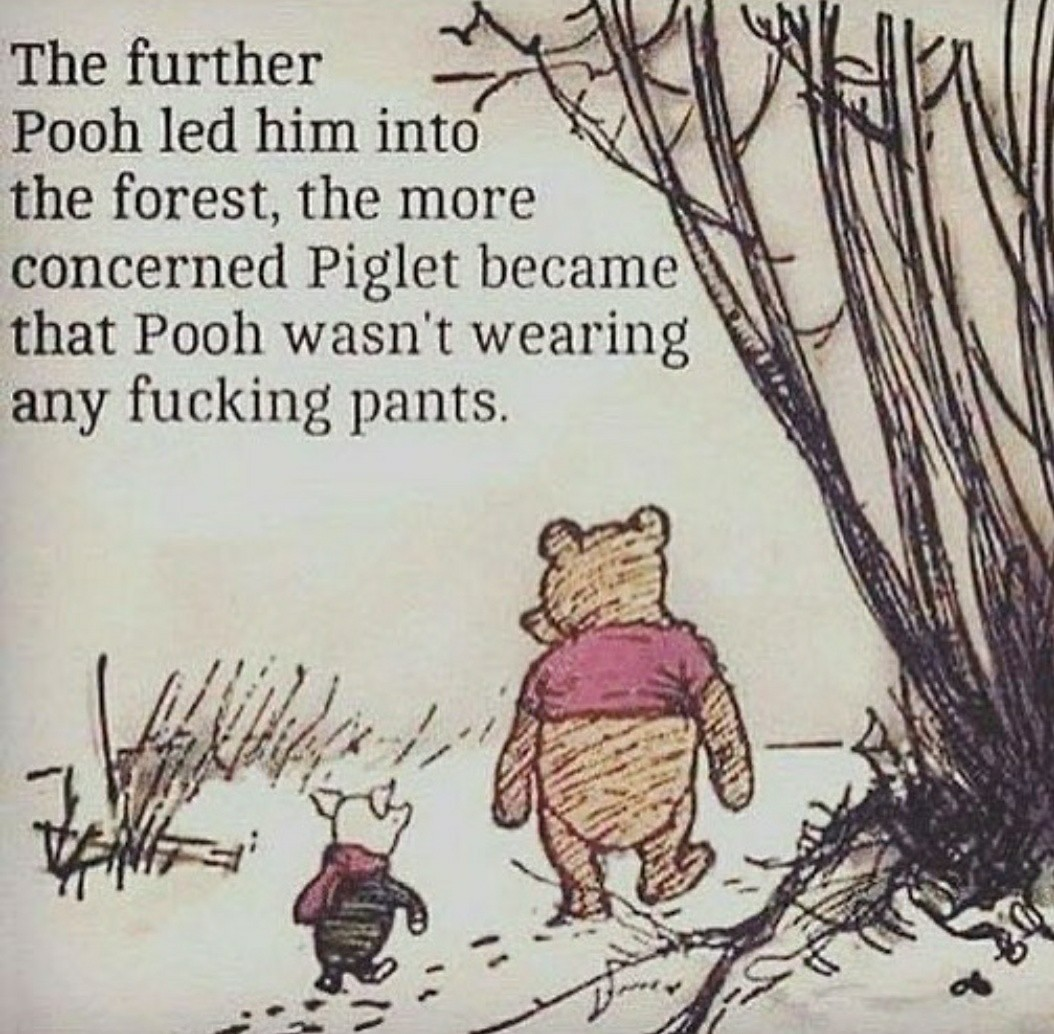 Pooh the rapist - meme