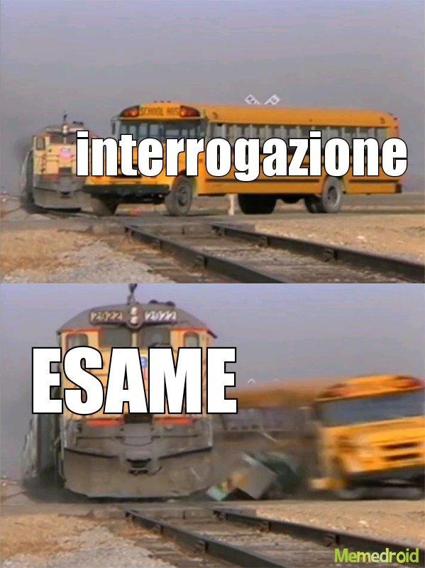 La scuola fa schifo - meme