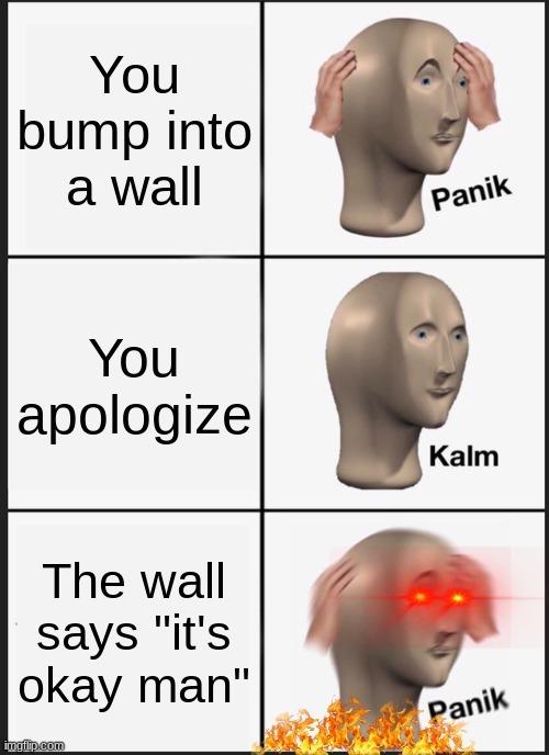 wall moment - meme