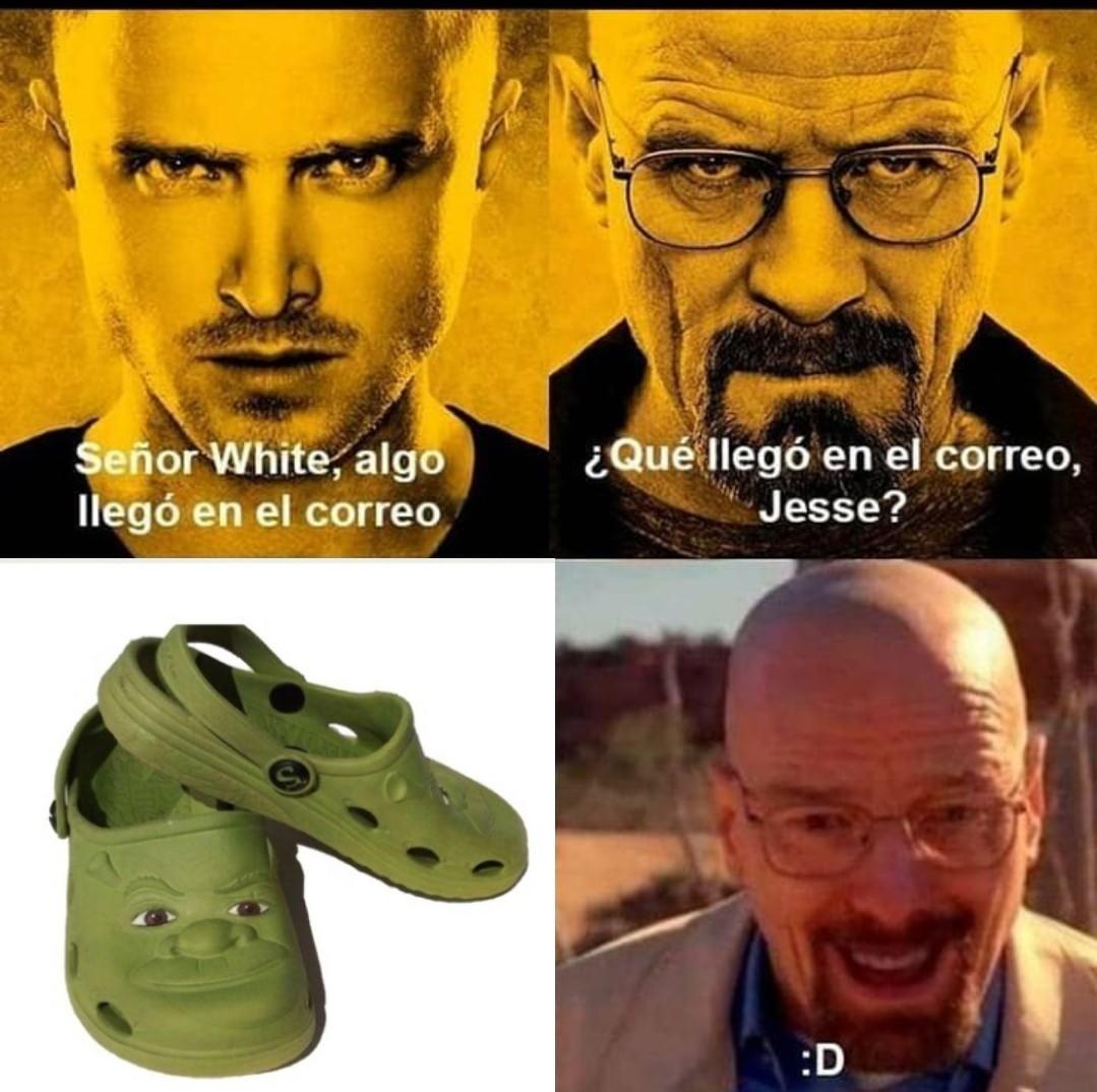 Shrek Crocs Shrocs - meme