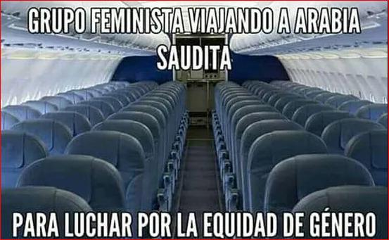 SIIII, LAS FEMINISTAS OCCIDENTALES POR FIN A HACER ALGO BUENO.... - meme