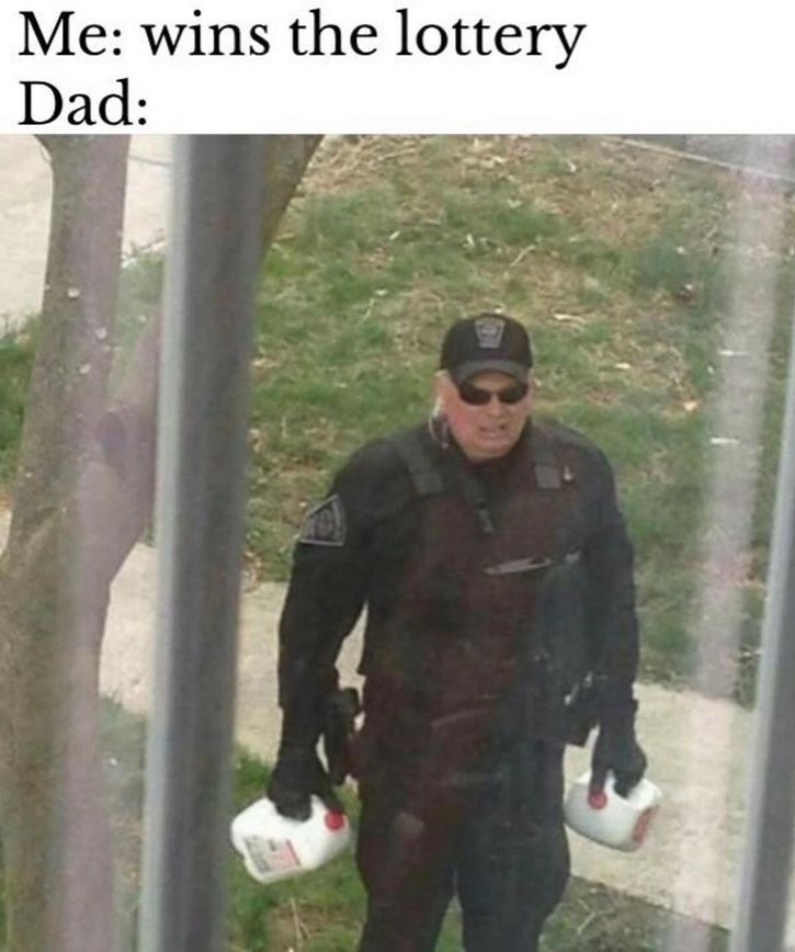 he's back with the milk - meme