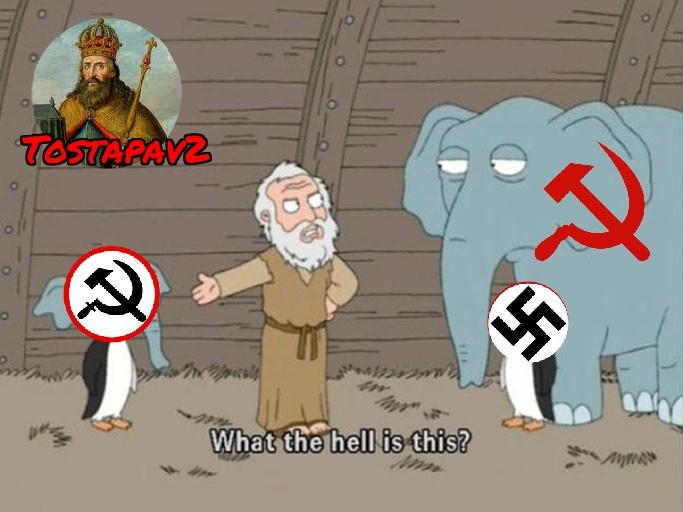 NacionalBolcevismo/NacionalComunismo/Chavismo - meme