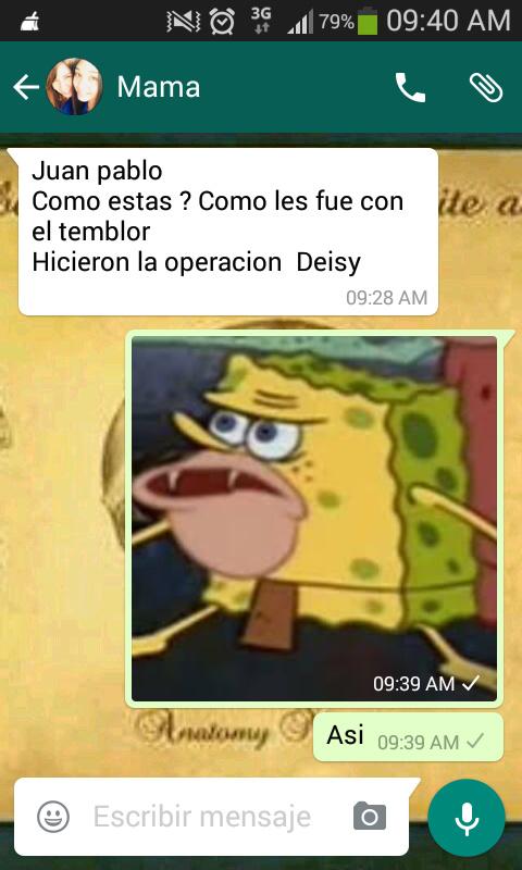 Temblores - meme