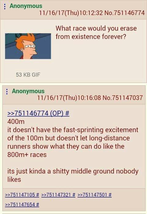 Damn 400m - meme