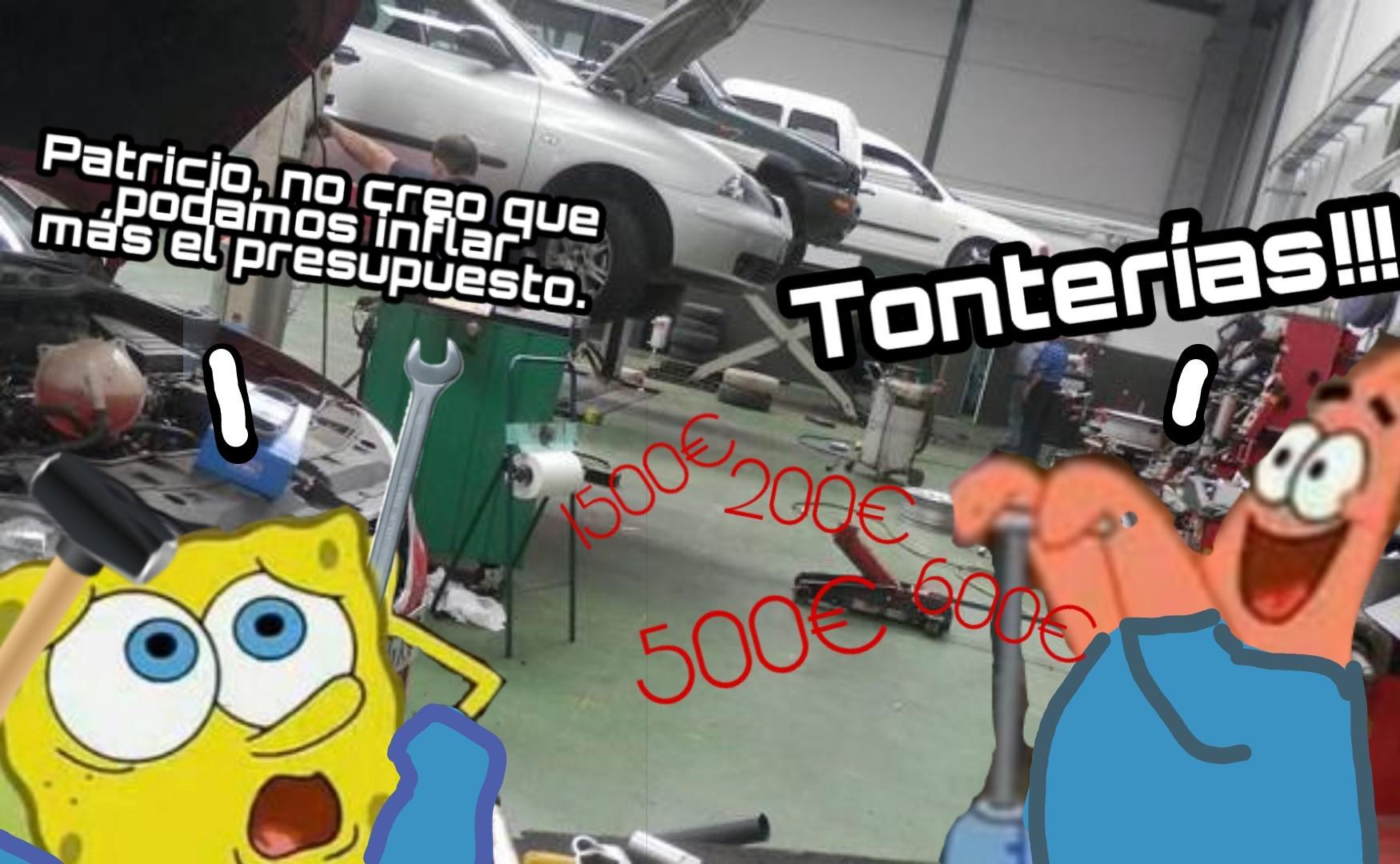 Mecánicos... - meme