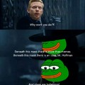 P for pepe